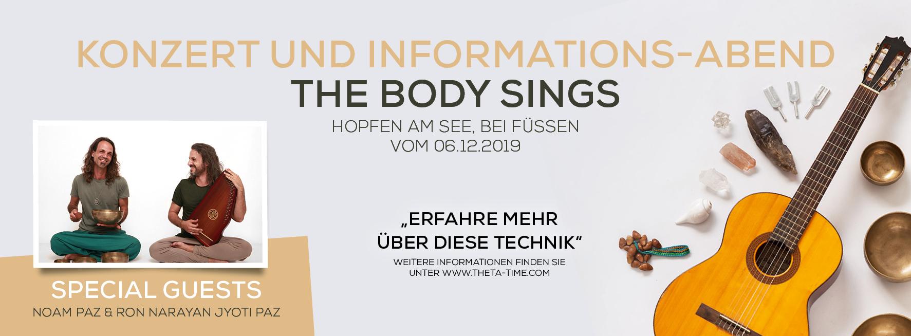 Konzert- und Informations-Abend